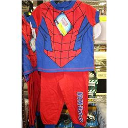 SPIDERMAN PJ'S ON CHOICE: SIZE 3
