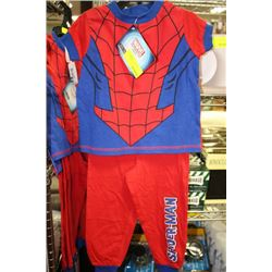 SPIDERMAN PJ'S ON CHOICE: SIZE 4