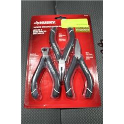 HUSKY 3 PC SPECIALTY MINI PLIERS