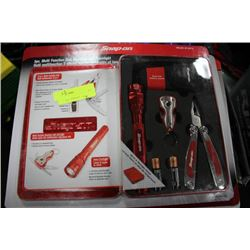 SNAP-ON 3 PC MULTI FUNCTION TOOL ,KEYCHAIN AND