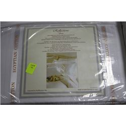 NEW IVORY 800 THREAD COUNT QUEEN SHEET SET
