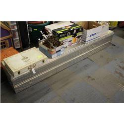 ALUMINUM TRUCK TOOL BOX SIZE:82X16X14