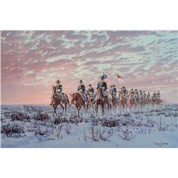 C Troop to Fort Concho
