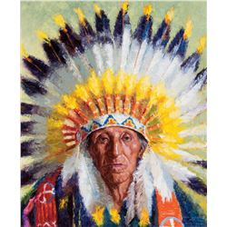 Chief Bad Yellow Hair, Sioux