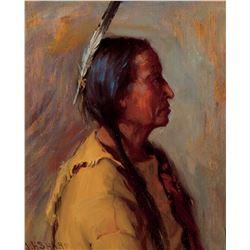 Portrait of Martinez, Ex Governor of Taos NM