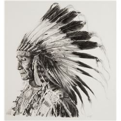 Sioux Indian Chief