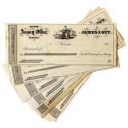 James Ott, Nevada Assay Office Receipts