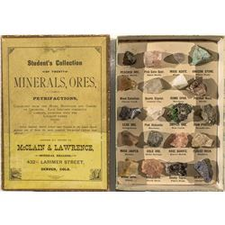 Colorado Mineral & Ore Samples Student Kit
