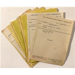 Dutch-Sweeney Mining Company Correspondence