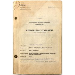 Soulsby Belle Registration Document 1936