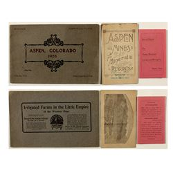 Three Aspen Mining Promotional Booklets