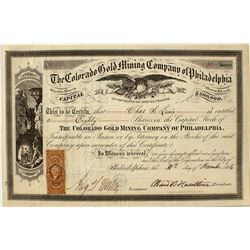 The Colorado Gold Mining Company of Philadelphia