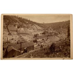 Colonel Sellers Mine, a W. H. Jackson photograph