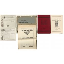 Clear Creek Mining Booklets & Documents