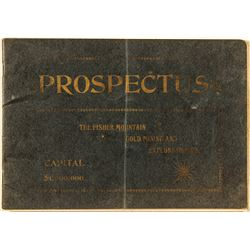 Prospectus, The Fisher Mountain Gold Mining and Exploration Co.
