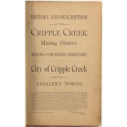 Cripple Creek Mining and Business Directory, 1894