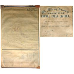 Cripple Creek Mining District Map