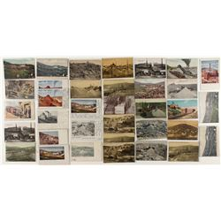 Cripple Creek mining postcards