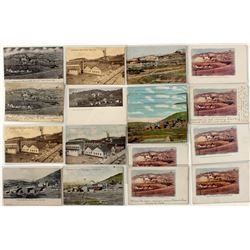 Large collection of Independence Mine post cards