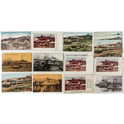 Portland Mine, Cripple Creek postcards