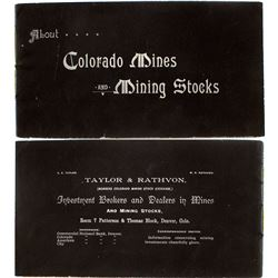 """About Colorado Mines and Mining Stocks"""