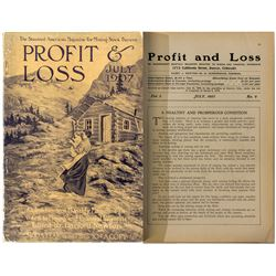 """Profit & Loss"" Magazine (July 1907 Issue)"
