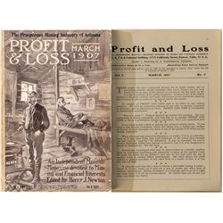 """Profit & Loss"" Magazine (March 1907 Issue)"