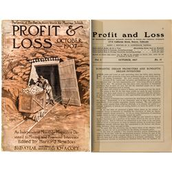"""Profit & Loss"" Magazine (October 1907 Issue)"