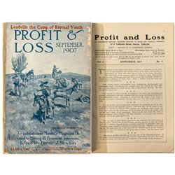 """Profit & Loss"" Magazine (September 1907 Issue)"