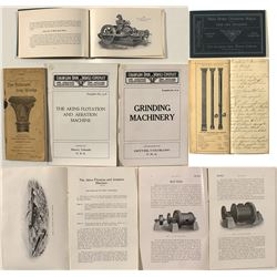 Four Colorado Iron Works pamphlets