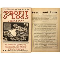 Profit & Loss Magazine (August 1907)