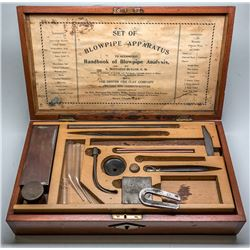 Set of Blowpipe Apparatus