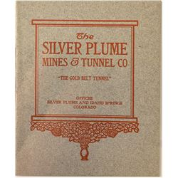 The Silver Plume Mines & Tunnel Co. Pamphlet