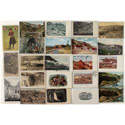 Colorado mining postcards