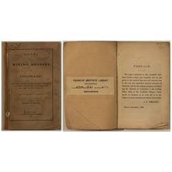"""Rare Original Source """"Silver Mining Regions of Colorado"""" Booklet"""