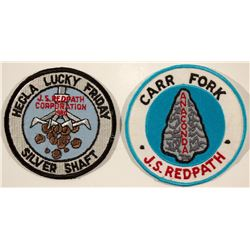 Two Mining Jacket Patches