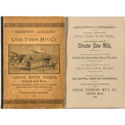 Descriptive Catalogue, Chase Turbine Mfg. Co.