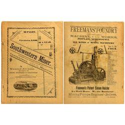 Weekly Missouri Mining Journal 1892, Southwestern Miner