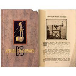 B & B Aerial Tramways Catalog