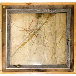 Level Map of the Tuolumne Mine