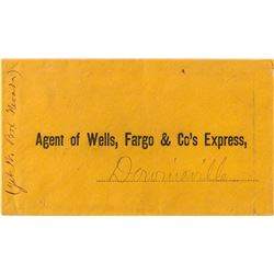 Internal Downieville, California Wells Fargo cover