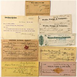 Wells Fargo & Co. Bank Ephemera
