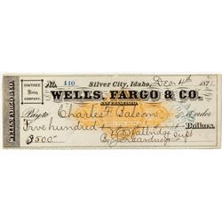 Wells Fargo & Co. Check