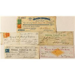 Virginia City Wells Fargo Check Collection
