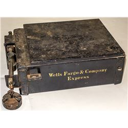 Wells, Fargo & Co. Express Counter Scale