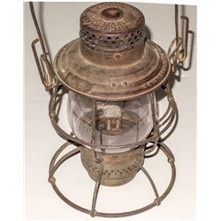 Wells, Fargo & Co. Express Lantern