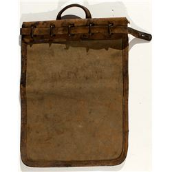 Railway Express Agency Locking Mail Bag (Narrow Bottom)