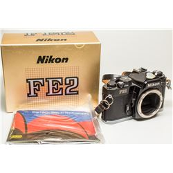 Nikon FE 2 Camera Body in original box with original paperwork