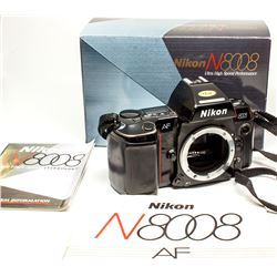 Nikon N8008 Camera Body in Original Box w/instruction manual