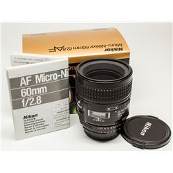 Nikkor 60mm Micro f 2.8 AF in original box with instruction manual